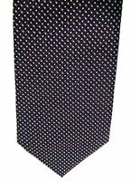 """NEXT Men's Casual Tie Blue Red Dotted Polyester 3"""" Width 59"""" Length"""