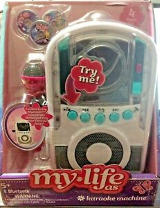 My Life As Bluetooth Karaoke Machine Set 4 Pieces goes with My Life Doll NEW