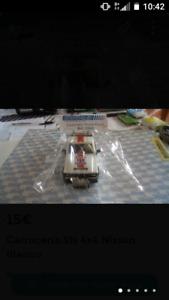 Carrocería Sts 4x4 Nissan Blanco Scalextric