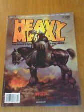HEAVY METAL #288 WEIRD ISSUE COVER A FRAZETTA CORBEN US MAGAZINE =