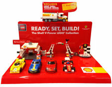 Lego Shell  V-Power Ferrari Stand + Accessories