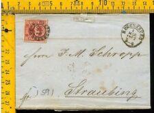 Germania Germany cover envelope Bayern I 591
