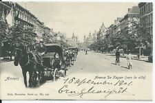 CPA - ANVERS - Avenue De Keyser ( vers la ville )