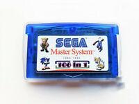 Sega Classics GBA 106 in 1 Multicart Gameboy Master System Game Gear 100 + Games