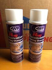 (2 Count) CWP Floor Care Rug Renovator Foam Shampoo 18 Oz.