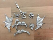 Dark Elves Morathi Sorceress on Dark Pegasus Metal OOP