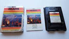 ATLANTIS - ATARI 2600 VCS Game Cart Modul Spiel PAL OVP CIB DEUTSCH VG