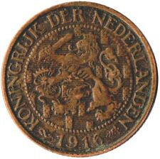 COIN / THE NETHERLANDS / 1 CENT 1916  #WT1918