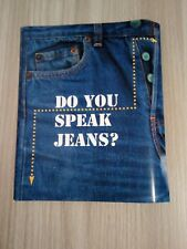 SCHEDE TELEFONICHE USATE CON TRIANGOLO  ►DO YOU SPEAK JEANS?◄ + FOLDER