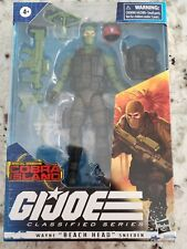 Hasbro Gi Joe Classified Series Cobra Island Beachhead Blue Eyes MOC In Hand