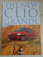 Renault Clio Grande Special edition brochure Feb 1999