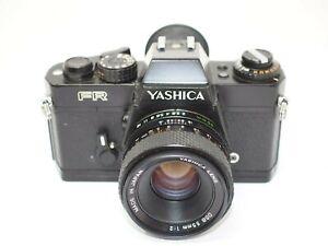 Yashica FR 35mm SLR Camera + 55mm f2 Yashica Lens