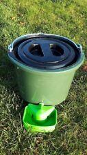 Geflügeltränkeeimer 12 Liter Automatische Tränke  Hühner Tränkeeimer Geflügel