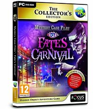 * PC NEW SEALED Game * Mystery Case Files - FATES CARNIVAL