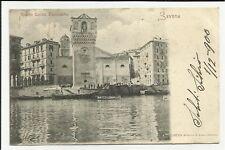 34739 CARTOLINA ANTICA DI TORRE LEON PANCALDO SAVONA 1900
