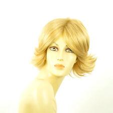 Perruque femme courte blond clair doré LISA LG26