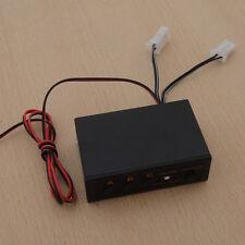 12V 2 Ways LED Strobe Flash Light Emergency Flasher Flashing Controller Box