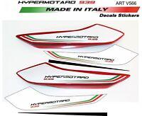 Adesivi per codino Ducati Hypermotard 939 design personalizzato