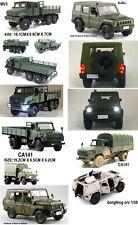 1/43? mv3 1/36? ca141 1/32? CA10 bj80j military army truck diecast sound/light