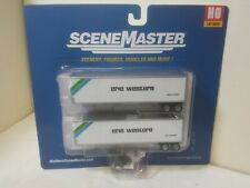 Erie Western Railroad 40' Trailmobile Trailer 2-Pk Assembled Walther 2511 HO