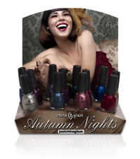China Glaze Nail Polish AUTUNM NIGHT Collection CHOOSE Your Favorite Lacquer