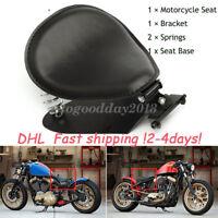 Motorrad 3 zoll Solo Sitz Schwingsattel mit Sitzfeder Grundplatte für Harley