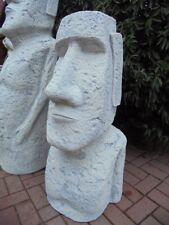 Gartenfigur, XL Moai, Skulptur, Rapa Nui Osterinsel, Steinguss, Nui Tiki, Statue