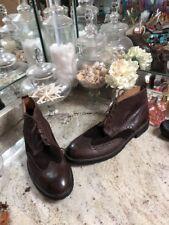 Men's Florsheim Wingtip Dress Boot Duckie Brown 12 D