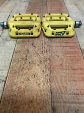 Raceface Chester Pedals! FREE SHIPPING! 110x101 Platform ~Yellow~