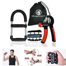 Set of 3 Multifunction Hand Grip Wrist Strengthener Forearm Exerciser Trainer