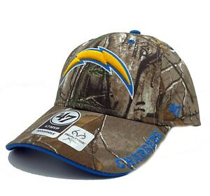 Los Angeles Chargers '47 Realtree Camo Frost MVP Adjustable Field Hat Cap NFL