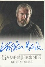 Game of Thrones Season 1 Full Bleed -   Kristian Nairn Autograph Card - Hodor