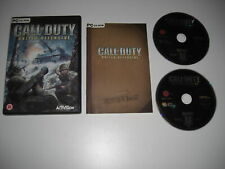Call Of Duty UNITED OFFENSIVE Pc Cd Rom COD 1 Add-On Expansion Pack - FAST POST