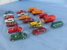 Wiking lot de 18 voitures 1/87 Ho pour réseau train électrique ou diorama