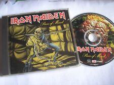 IRON MAIDEN  - Piece of Mind CD  (1998)