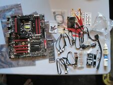 Asus Maximus IV Extreme P67 LGA1155 Motherboard ROG ATX w/I/O - w/ Extras!