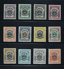 LABUAN, 1902 / 03, set of twelve (12) stamps to $1 value, MNG / MM, Cat £65.