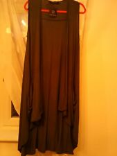 join clothes S pencil grey sleeveless duster with pockets