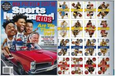 New Sports Illustrated Kids October 2017 76ers M Fultz J Embiid No Label + Cards
