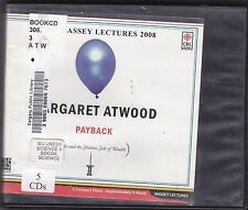 Payback : Debt and the Shadow Side of Wealth by Margaret Atwood (2008, CD)