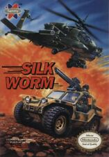 Silk Worm Nintendo Nes Cleaned & Tested Authentic