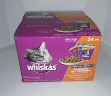 WHISKAS TENDER BITES Favorite Selections Variety Pack Wet Cat Food Pouches