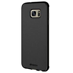 AMZER Pudding TPU Case - Black for Samsung GALAXY S7 Edge SM-G935F
