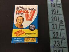 Vintage#BUITONI NIPIOL  Mignon Mini Scatola Anni 70 Giocattolo STORICA [AO