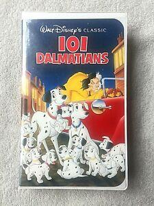 101 Dalmations Disney Classic VHS ISBN 1-55890-263-5 and Three  BONUS TAPES