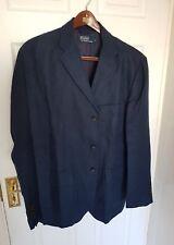 Mens POLO RALPH LAUREN linen blazer/jacket/sport coat. Size large. RRP £495.