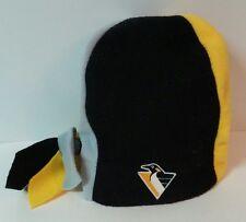 2000s Pittsburg Penguins Braided Long Tassle Hat Cap Beanie - FREE SHIPPING