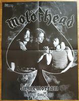⭐⭐⭐⭐ IRON MAIDEN ⭐⭐⭐⭐ Motörhead ⭐⭐⭐⭐ 1 Poster ⭐⭐⭐⭐ Plakat 45 x 58 cm ⭐⭐⭐⭐