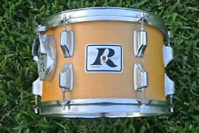 "ADD this RARE 1970's ROGERS USA 12"" NATURAL TOM to YOUR DRUM SET! LOT #E230"