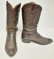 Acme Vintage Boots Western Cowboy Leather Brown USA Women's 7 Distressed